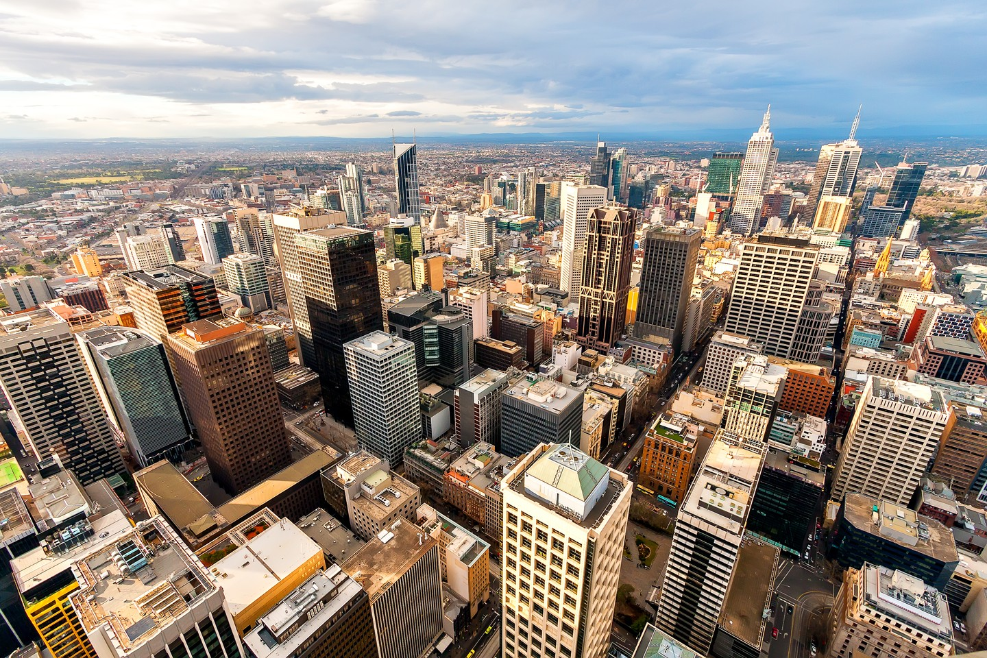 Skyscrapers in Melbourne, Australia