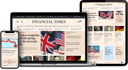 FT.com website
